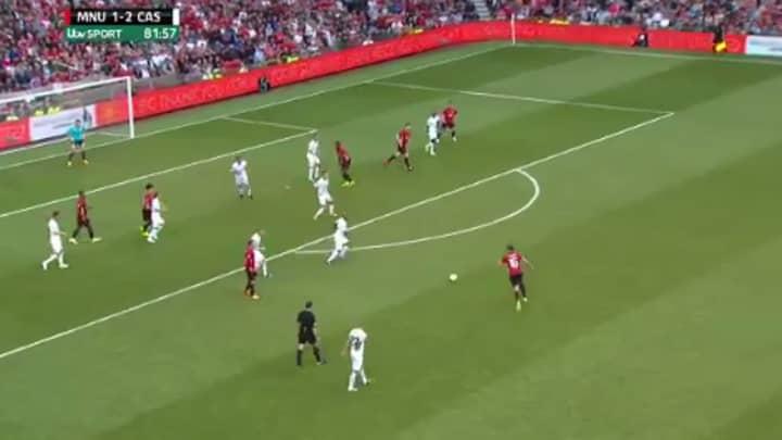 WATCH: Michael Carrick Bags A Stunning Long Range Goal On His Testimonial