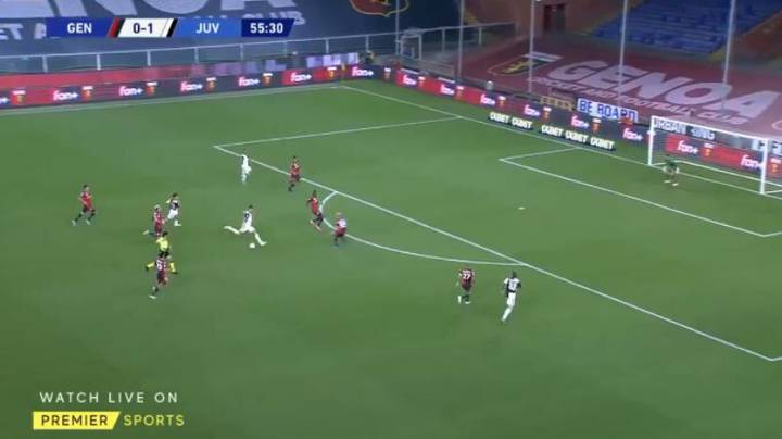 Cristiano Ronaldo Hits Stunning Long Range Goal In Juventus Win