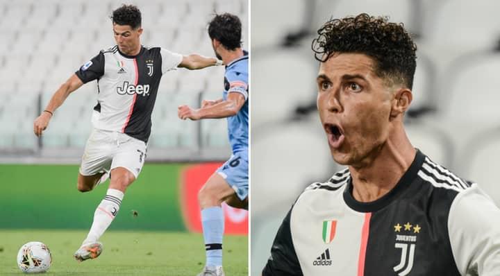 Cristiano Ronaldo Breaks Another Goalscoring Record At Age 35