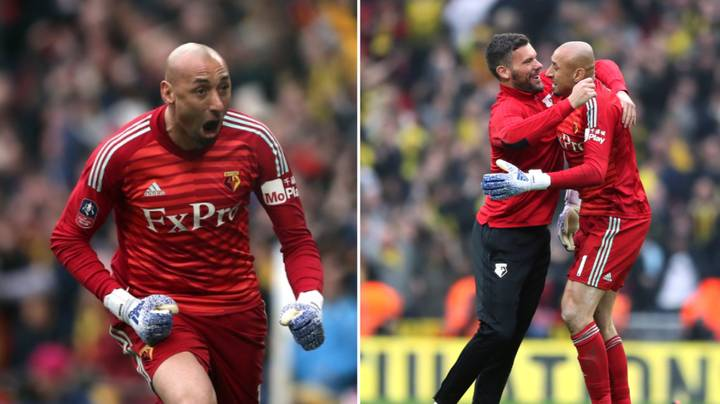 Ben Foster Refuses To Play In FA Cup Final If Picked Over Heurelho Gomes