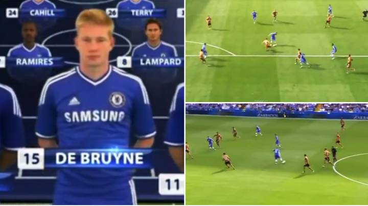 Video Of Kevin De Bruyne's Incredible Chelsea Debut Shows Jose Mourinho Was Wrong To Sell Him
