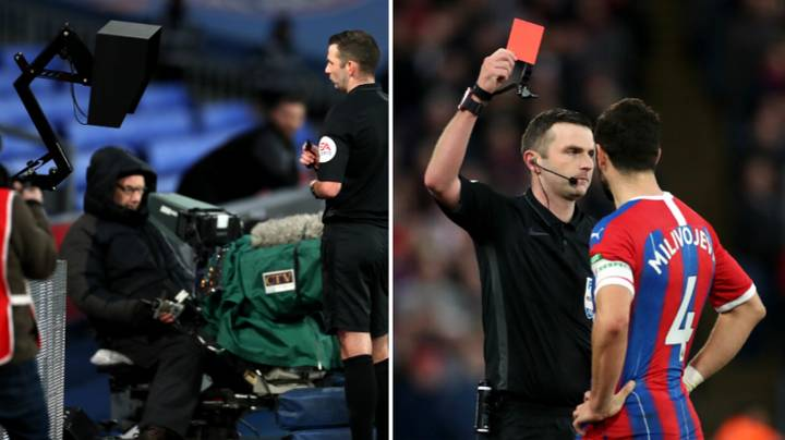 VAR Change As Referees Told To Use Pitchside Screen For Red Cards