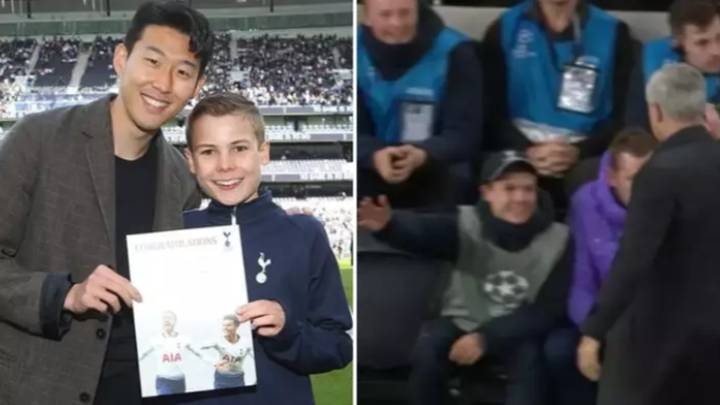 Jose Mourinho Invites Heroic Tottenham Ball Boy To Lunch With The Squad