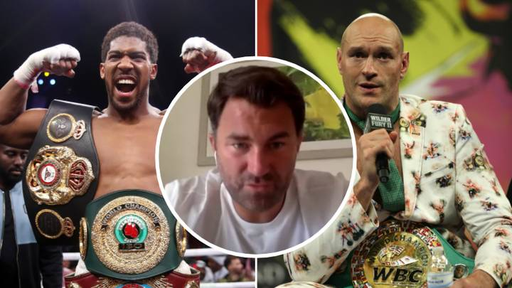 Eddie Hearn Gives Potential Timeframe For Huge Anthony Joshua Vs Tyson Fury Clash