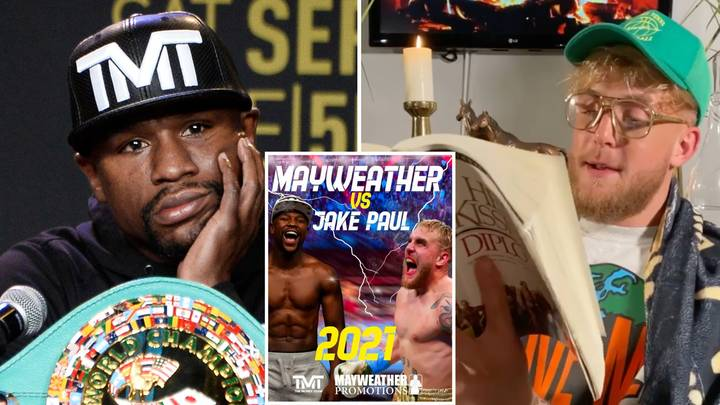 Jake Paul Rips Into Boxing Legend Floyd Mayweather With A Bizarre 'Poem' After Recent Callout