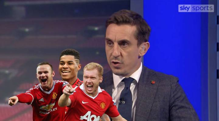 Gary Neville Has Named His Manchester United Team Of The Decade