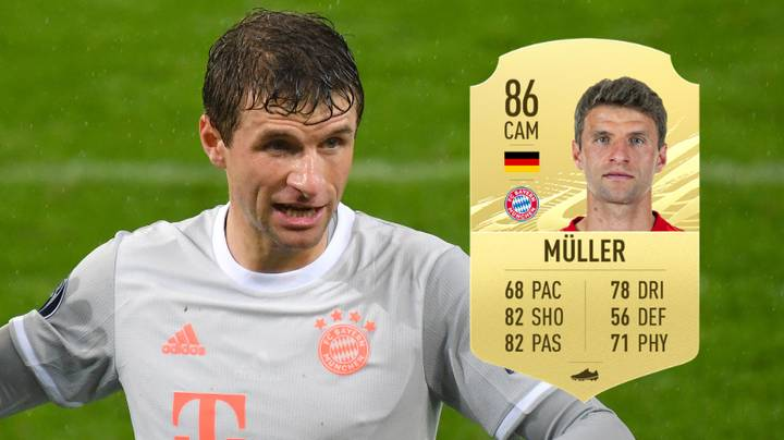 The Story Behind Thomas Muller's Formula-Breaking Rating On FIFA