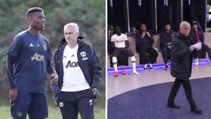 Jose Mourinho Lets True Feelings On Paul Pogba Slip In Episode Of Spurs' Amazon Documentary
