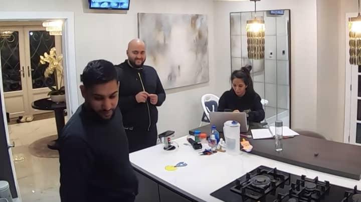 Amir Khan Loses It Over Wife Faryal Makhdoom's £2 Million Prank