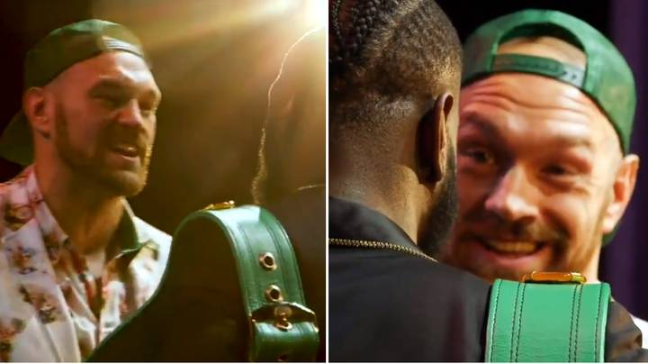 Tyson Fury Says He's Going To Knockout Deontay Wilder During Intense Face Off