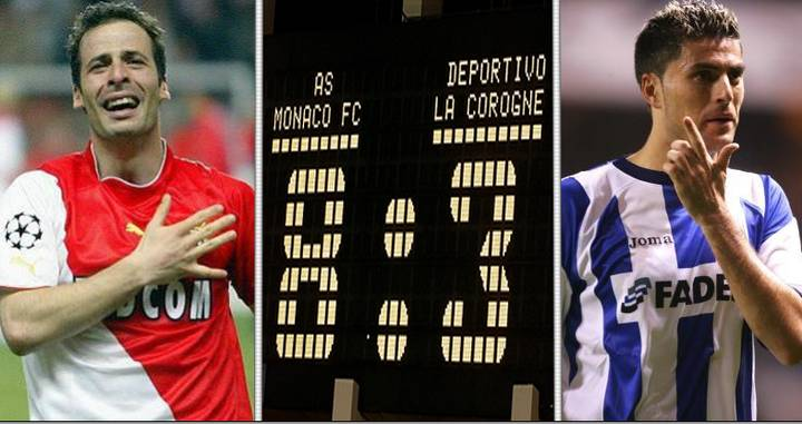 When AS Monaco Beat Deportivo 8-3 In Their Famous 2003/04 Champions League  Campaign - SPORTbible