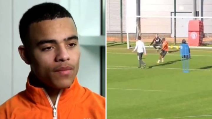 Mason Greenwood Is Seriously Impressed With Amad Diallo In Training