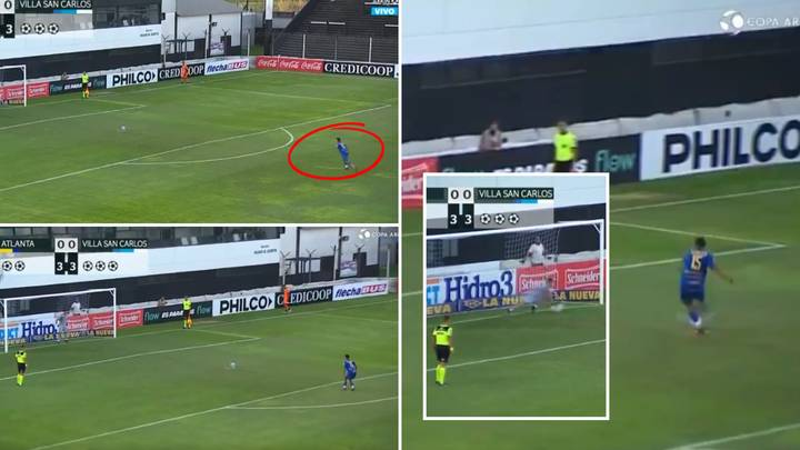 Argentine Footballer Has Horrific Penalty Saved After The Longest Run-Up Ever