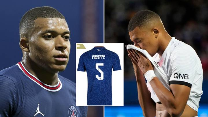 Kylian Mbappe Wants To Take The Number Five Shirt At Real Madrid For A Personal Reason