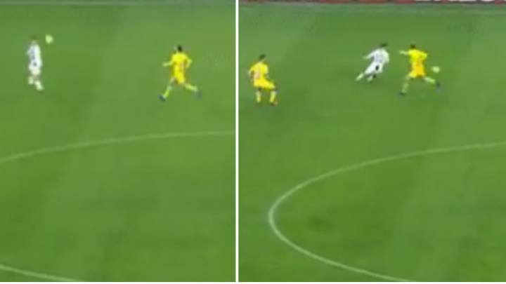 Paulo Dybala Produced A Jaw-Dropping First Touch Against Frosinone
