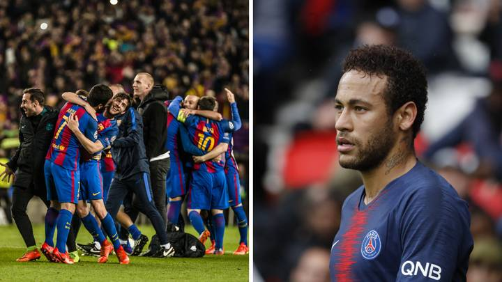 Neymar Shares Messi S Selfless Decision That Lead To Barca S Incredible Comeback Vs Psg Sportbible