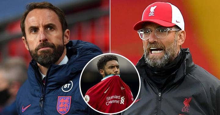 Gareth Southgate Opens Up On 'Long Chat' With Jurgen Klopp After Joe Gomez Injury