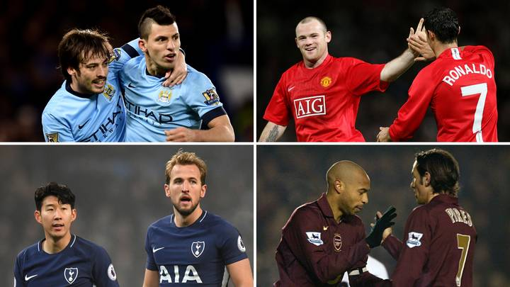 Revealed: The Top 20 Highest Assist-Goal Player Partnerships In Premier League History