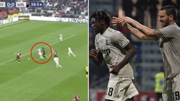 Juventus' Leonardo Bonucci Makes A Huge Mistake Against AC Milan
