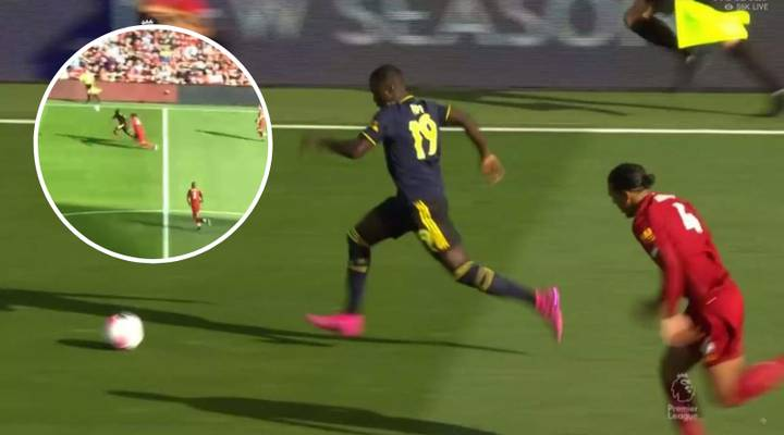 Nicolas Pepe Officially Dribbles Past Virgil Van Dijk To Shatter His 50-Game Record