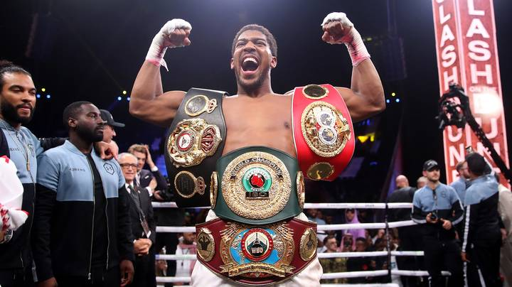 Anthony Joshua Wants To Set Up A GoFundMe Page For Deontay Wilder
