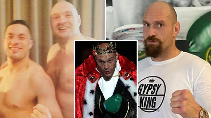 Tyson Fury's Side-By-Side Four-Year Body Transformation Is One Of The Best In Sport History