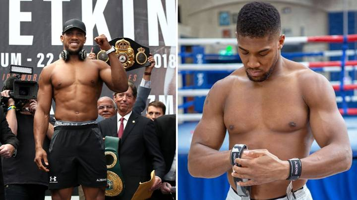 Anthony Joshua Shows Off New Lean Look Ahead Of Andy Ruiz Jr Rematch