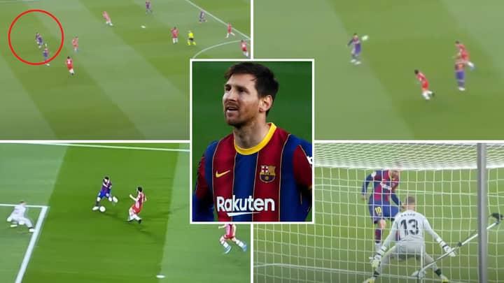 Lionel Messi Slammed By Fans For 'Bottling' La Liga Title For Barcelona After HUGE Miss Against Granada