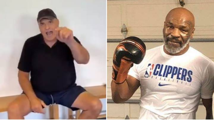 Tyson Fury's Father John Fury Calls Out Mike Tyson In X-Rated Video