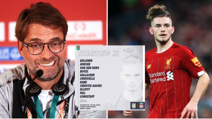 Liverpool Field Their Youngest Ever XI For Carabao Cup Tie With Aston Villa