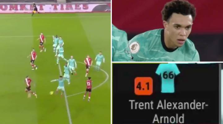Fans Are Sharing Video Of Trent Alexander-Arnold's Disasterclass Against Southampton