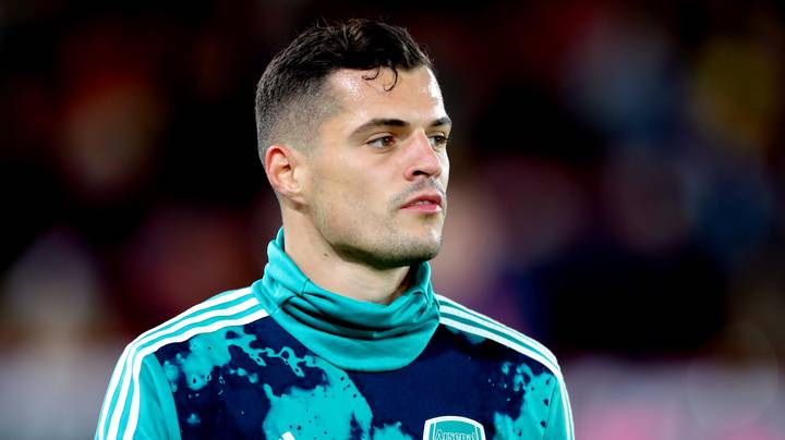 Arsenal's Granit Xhaka Issues Emotional Statement Following Sunday's Incident