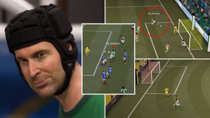 FIFA 21 Player Has Somehow Scored 2000 Goals With Petr Cech On Ultimate Team