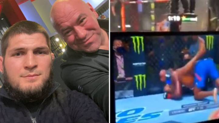 Dana White Walked Out On UFC Main Event