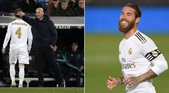 Zinedine Zidane Targets Sergio Ramos Replacement At Real Madrid