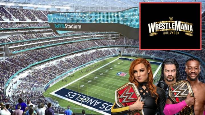 Wrestlemania 37 To Take Place In Los Angeles' SoFi Stadium