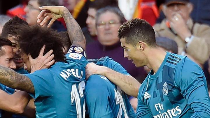 Everybody Was Talking About Cristiano Ronaldo's Celebration With Marcelo