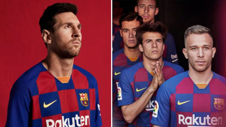Barcelona New Home Kit Branded 'Embarrassing' After Official Launch