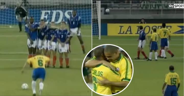 Roberto Carlos Explains Secret Behind How He Scored 'Impossible' Free-Kick