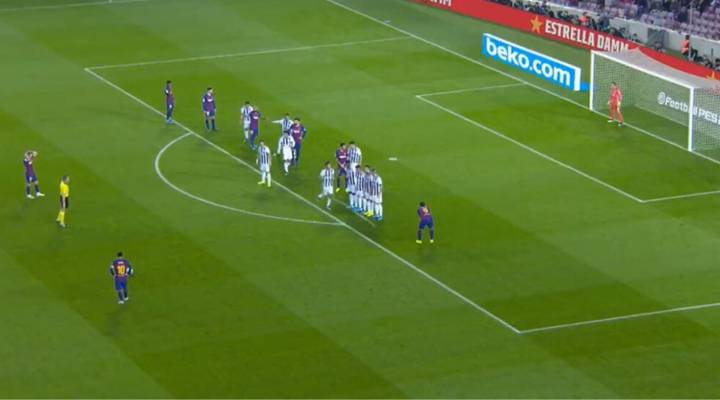 Lionel Messi Scores 50th Free-Kick Of His Career With Sublime 35-Yard Strike