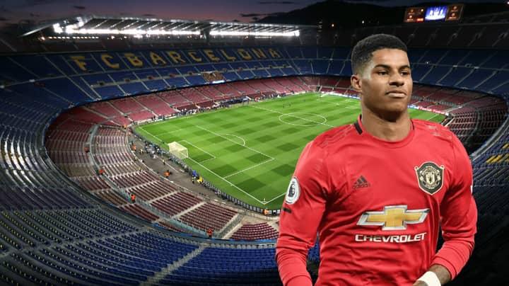 Manchester United Forward Marcus Rashford 'Said Yes' To Barcelona Transfer