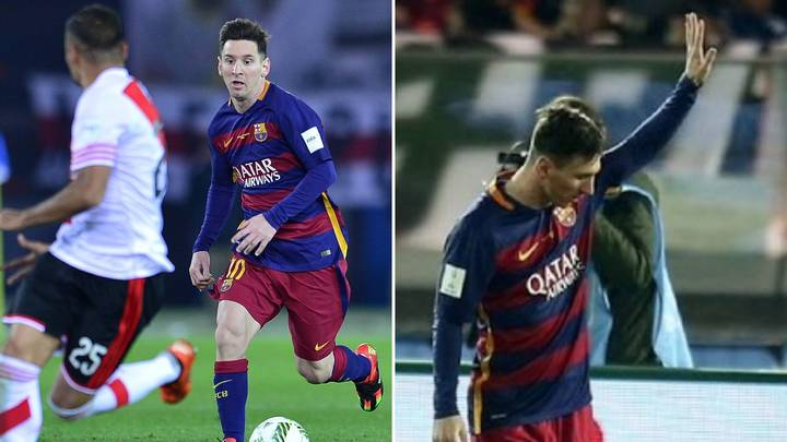 When Lionel Messi Apologised For Scoring A Goal In The Ultimate Show Of Respect