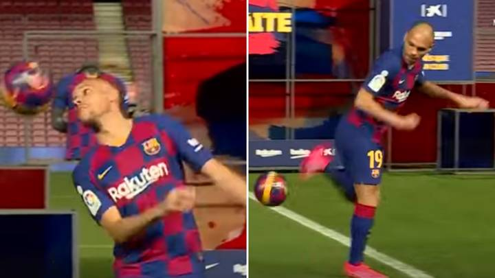 Barcelona's Martin Braithwaite Has One Of The Most Embarrassing Unveilings Ever