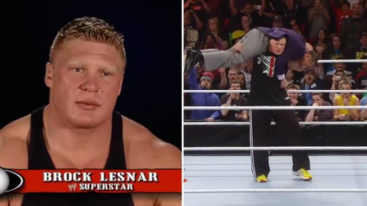 Brock Lesnar Explains How He Developed One Of WWE's Most Devastating Finishing Moves
