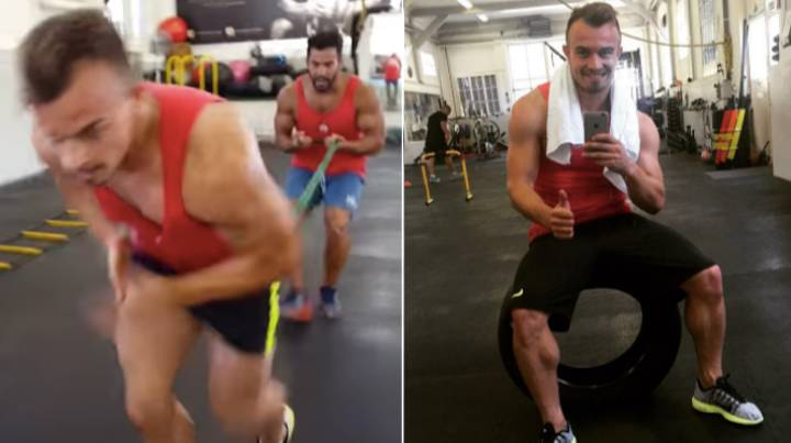 Xherdan Shaqiri's Intense Leg Workouts Revealed And They Are Painful To Watch