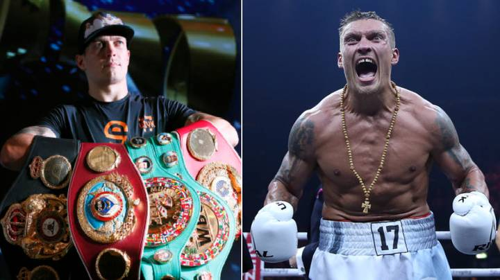 Cruiserweight King Oleksandr Usyk Is The Ultimate Road Warrior