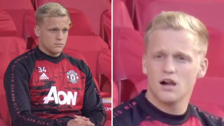 Donny Van De Beek's Reaction From The Bench Sums Up Manchester United's Performance