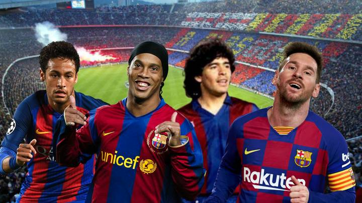 Barcelona's Greatest Players Of All Time Have Been Ranked, Lionel Messi Only Third