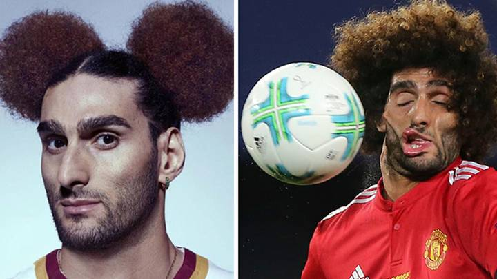 Marouane Fellaini Signs New Manchester United Contract, Fans React