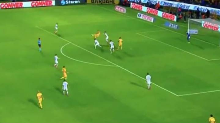 Andre Pierre Gignac Scores Brilliant Overhead Kick To Complete Hat-trick